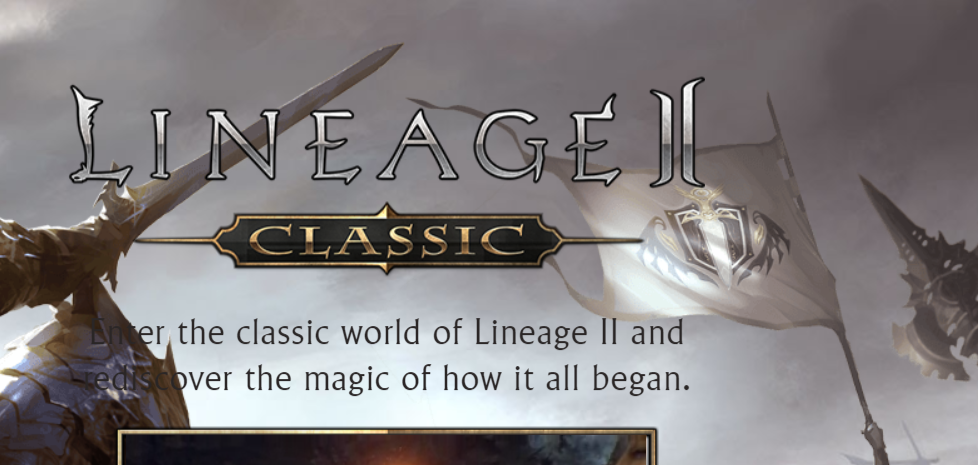 Classic Lineage 2